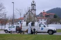 Imagens de Viana do Castelo, em Portugal, nestes dias de combate ao Covid-19
