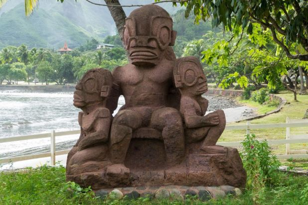 Nuku Hiva Island Marquesas Islands FO/JI1JKW Tourist attractioins spot
