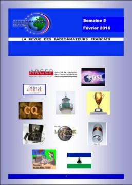 La revue Radioamateurs-France RAF S5-2016