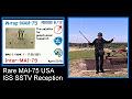 MAI 75 ISS SSTV
