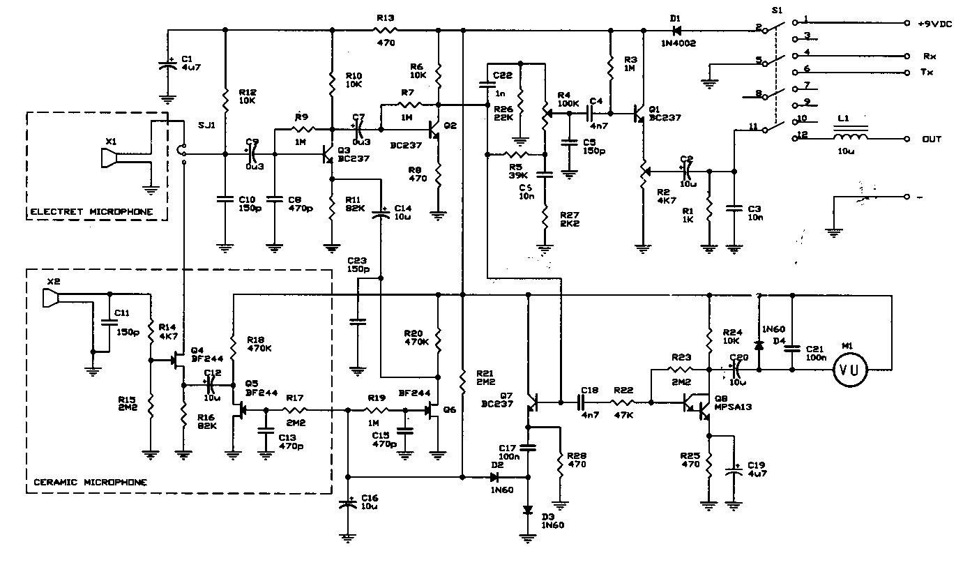 microphone wiring diagram honeywell frost stat turner 2 get free image