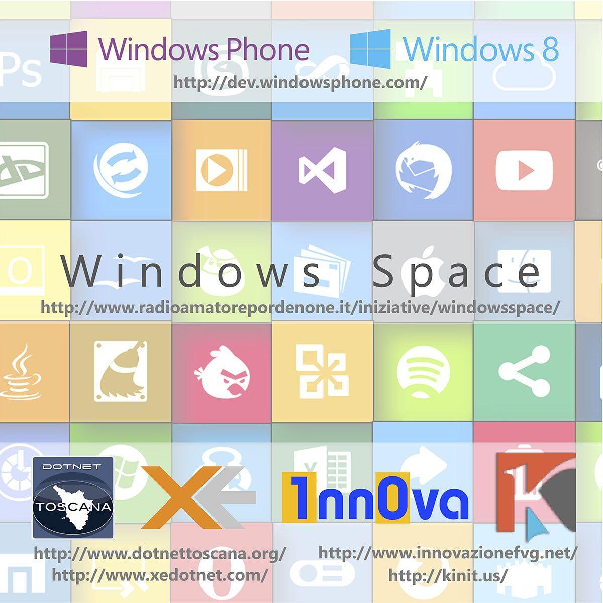 Windows Space Poster Anche lassociazione 1nn0va partner dellAppDays