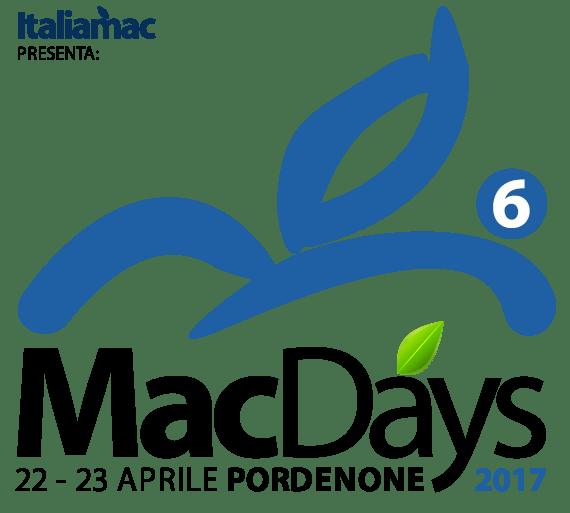 Logo MacDays 2016 570 MacDays by Italiamac a Pordenone