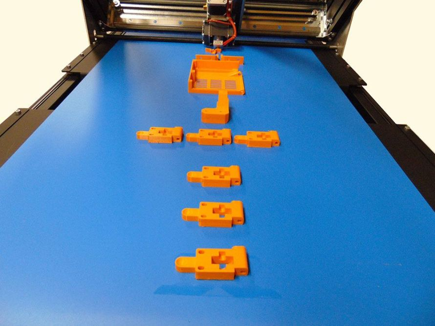 Nastro 890x668 Robot FactorySliding 3D, linnovativa stampante 3D desktop a Radioamatore