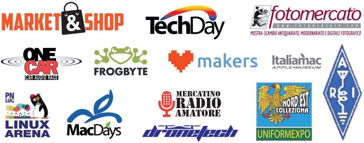 loghi eventi 2019 Radioamatore Fiera di Tecnologia a Pordenone