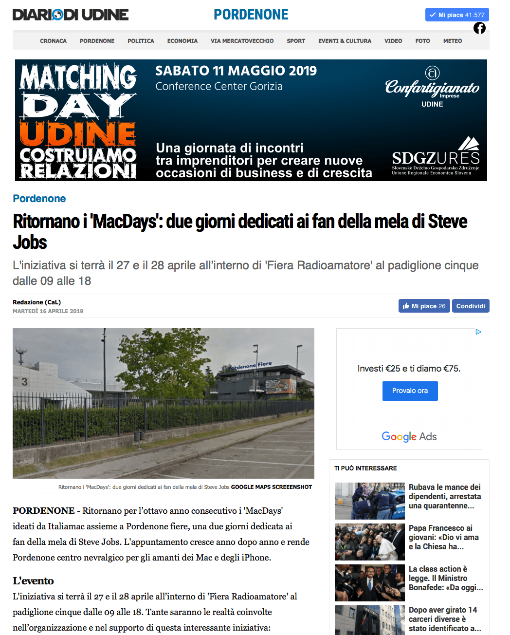 Screen Shot 2019 05 02 at 15.53.13 Rassegna Stampa Radioamatore Fiera 2019