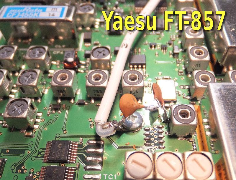 Panadapter Yaesu FT-817, 897, 857 RTL2832u out IF MF 68,33 Mhz | ve3ips