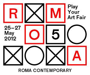 Logo Rome Art Fair 2012