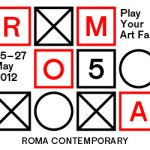 Logo Rome Art Fair 2012