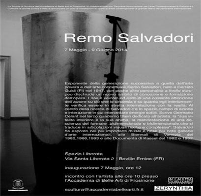 Remo Salvadori in Boville Frosinone