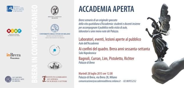 Invitation to Accademia Brera