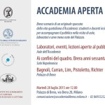 Invitation to Accademia Brera