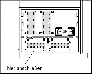 2009 vw tiguan radio wiring diagram hornby dcc aux in adapter kabel rcd 210 rns 310 3,5 klinke mp3 golf polo passat | ebay