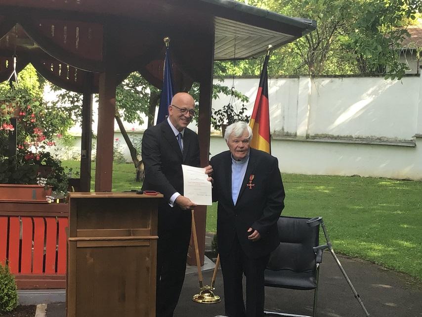 Botschafter Cord Meier-Klodt: Abschlussbesuch in Hermannstadt