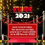 Kundé 2021: seront concernés les œuvres sorties entre le 01er mars 2019 et le 28 février 2021