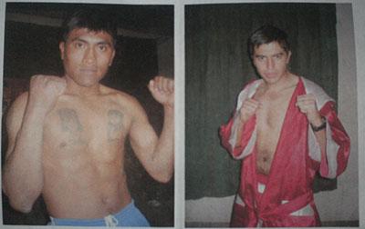Walter Gómez y Pablo Pastor quienes animaran la velada boxística