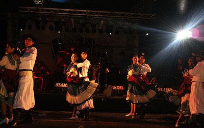 Ballet de danzas folklóricas que actuara en la edición anterior de Serenata a Cafayate