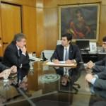 Urtubey recibió al cónsul general de Francia para la Argentina y Uruguay
