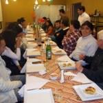 ¿Porque no fue Almeda a la cena de los periodistas?
