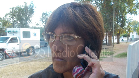 La presidenta del Concejo Deliberante Argentina Chocobar
