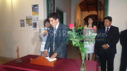 Juramento de Marcos Arjona