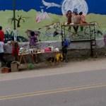 Se pinta el Mural Nº 11 de Cafayate