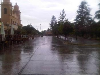 Cafayate lluvia
