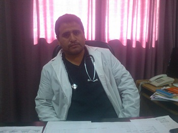 El doctor Carlos Vargas, gerente de Atención a las Personas del hospital de Cafayate