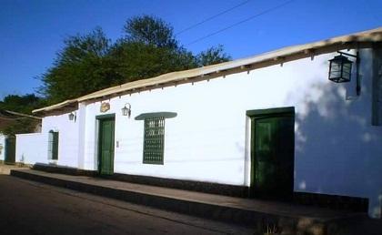 Casa histórica Las Tinajas, en San Carlos