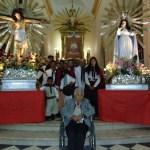 Los gauchos peregrinos cabalgan al templo de los patronos de Salta