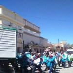 Llegaron a Cafayate peregrinos de Santa María