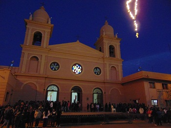 Ültimo día del Rosario del Alba. Foto gentileza Beky Fabian