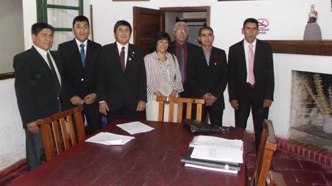 Los nuevos concejales de Cafayate para el período 2015-2017. Foto gentileza Sergio Casimiro