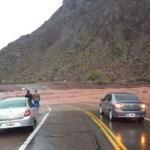 El Arroyo Santa Bárbara cortó la Ruta 68