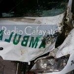 Una ambulancia del hospital chocó con un caballo cuando trasladaba un paciente a Salta
