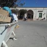 Marcha y huevazos a la Municipalidad por el conflicto de las 32 hectáreas