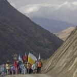 Inician su marcha los primeros peregrinos del Milagro con el recorrido más extenso