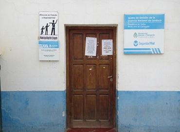 La puerta de Tránsito permaneció cerrada este martes por la tarde