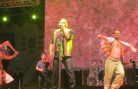 Lucio Rojas en la Serenata a Cafayate