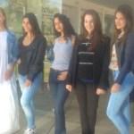 Llegaron a Cafayate las candidatas a Reina de los Estudiantes