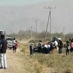 Grave accidente en la ruta 40 cerca de San Carlos