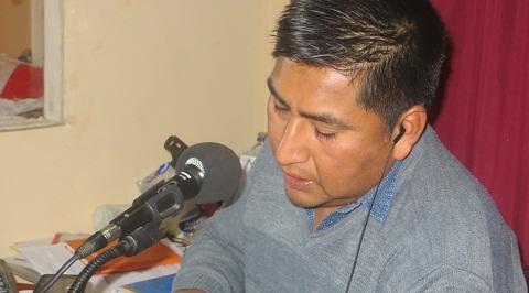 Rodrigo Chocobar en Radio Cafayate