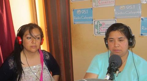 Rita Guevara y Patricia Castro, concejales electas de Cafayate