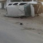 Persecución policial, vuelco y muerte en la Ruta40