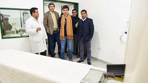 Inauguraron el servicio de tomografía del hospital de Cafayate