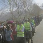 El domingo parten los peregrinos de El Milagro