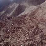 Preocupación en La Yesera por posibles derrumbes y aludes
