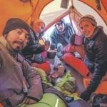 Un cafayateño integró un grupo de montañistas que hacen historia en los nevados de Fatima