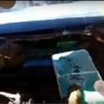 Video del momento que se detecta la cocaína que venía a Cafayate