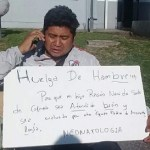 Cafayateño inició huelga de hambre en el Materno Infantil por la salud de su hijo